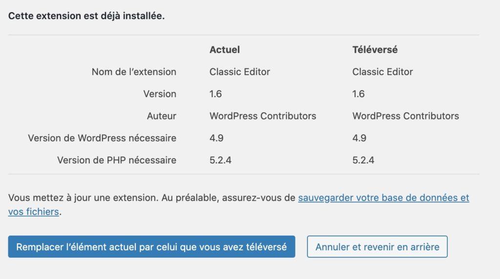 Wordpress 5.5 : Les nouveautés de la mise à jour 1