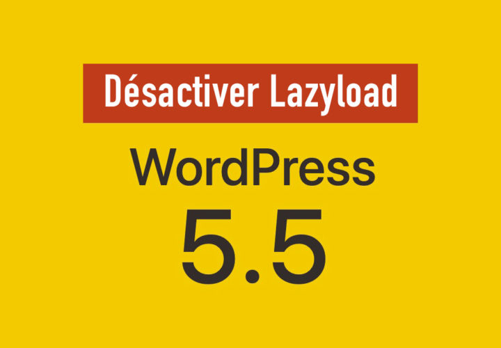 Disable the Lazy Load in Wordpress 5.5+. 9