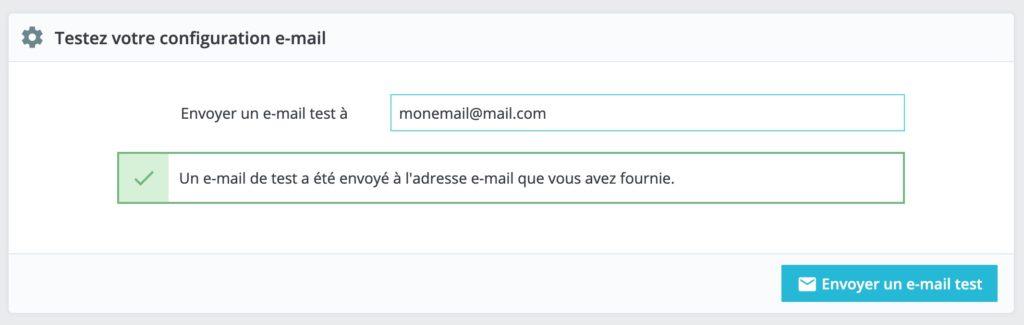 Prestashop : Envoyer les emails depuis SendGrid SMTP 2